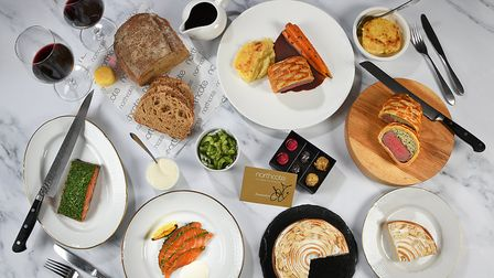 The three-course Classic Gourmet box offers traditional high-end delights. Allen Markey