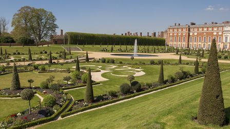 The gardens at Hampton Court. Image: Andy Newbold
