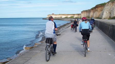 Viking Coastal Trail, one of three great cycle routes in Kent to try (photo: pollardshillcyclists, F