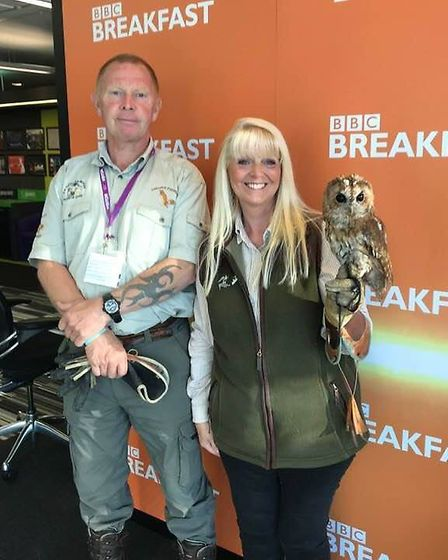 BBC Breakfast earlier this year when I was asked to talk about Tawny Owls along with a member of the