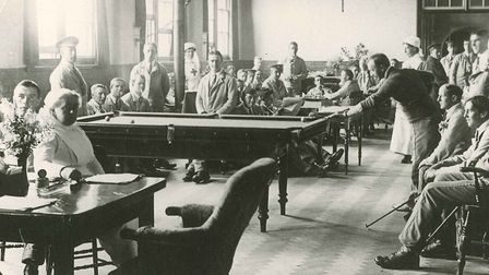 Auxiliary hospital at Queens Road School in Royston (photo: Royston & District Museum)