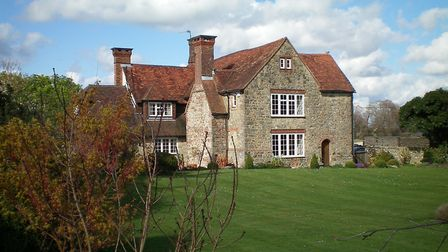 The manor house at Bignor which was used as a base for Free French agents during the war. Photo: Cha