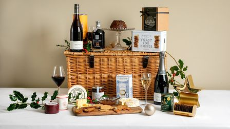 Bolney Christmas Wine and Cheese Lovers' Hamper