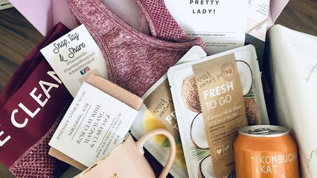 Active wear, tasty treats and beaty products all from local businesses
