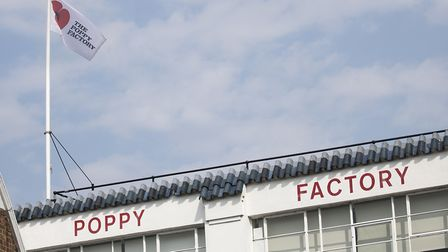 The Poppy Facory in Richmond. Image by The Poppy Factory