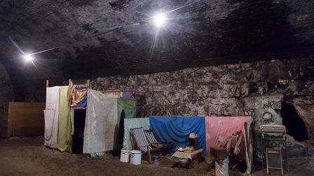 Deep shelter tunnels in Ramsgate were opened in June 1939 as Kent prepared itself for bombing. There
