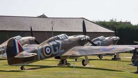 Hawkinge was the nearest operational airfield to France so was very much at the forefront during the