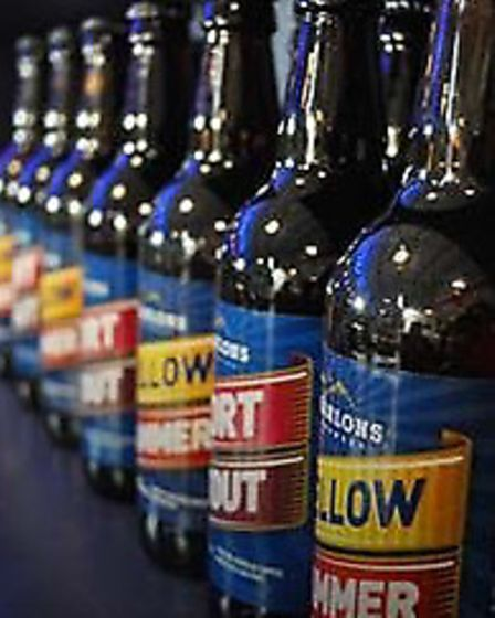 Hanlons is well-known for its Yellow Hammer beer. Photo: Hanlons Brewery