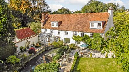 The river Rib has been at the heart of the property for 1,000 years (photo: Savills)