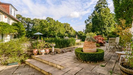 Terraces around the river are great for summer dining and entertaining (photo: Savills)