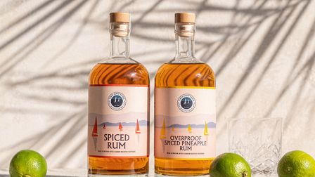 All Two Drifters rums are produced in the distillery in Exeter, including the spicing process. Photo