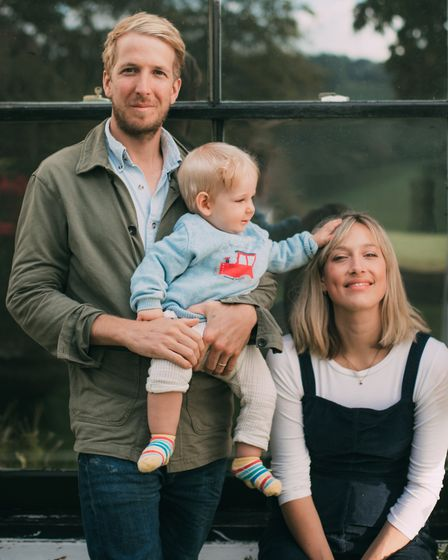 In March 2020, Hugo and Olive Guest made the decision to move to Devon with their three-month-old ba