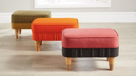 Footstools, a necessity in every living room!