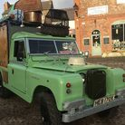 The iconic green Land Rover has been lovingly restored. Photo: John Brown 4x4
