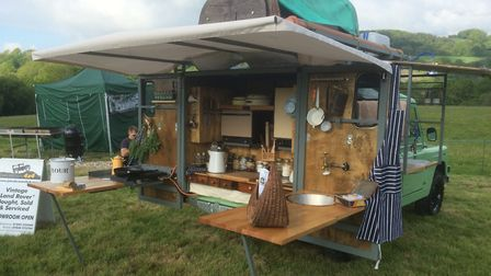 The main feature is the foldout cookery area. Photo: John Brown 4x4