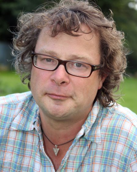 Hugh Fearnley-Whittingstall's first TV appearance of note was in the Gastrovan. Photo Terry Ife