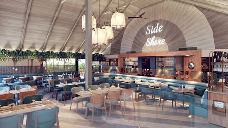 Mickeys Beach Bar and Restaurant will source local produce to support the local community. Photo: Mi