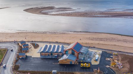 The new new Sideshore development is part of the Exmouth seafront regeneration project. Photo: Tim P