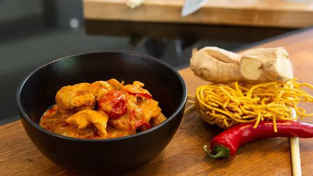 Penang Chicken Curry. Image: Luke Britton, Darkroom Photographic Events