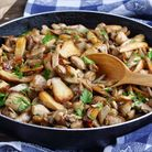 Mushrooms can make a simple yet indulgent winter meal. Image: Getty