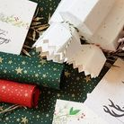 The Little Green Paper Shop stocks a variety of eco-friendly Christmas wrap, cards and gift tags. Ph