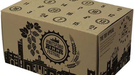 The Knutsford Beer Festival advent calendar features beer from local suppliers. Photo: Knutsford Bee
