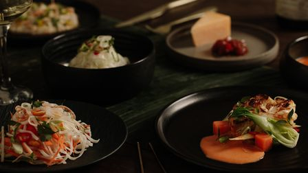 The vegetarian option for the Bangkok four-course dinner from Nico at Home Photo: Home-X