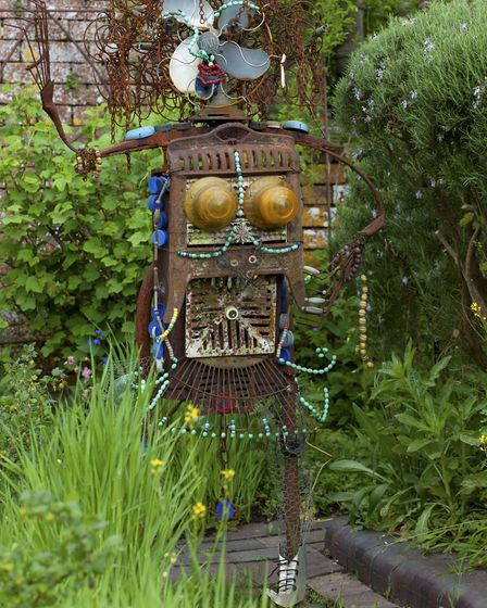 Bring humour to the garden with your finds