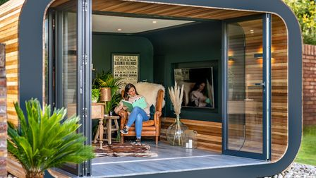 Use your new garden room as a home office, gym, yoga studio or den. Picture: Eden Arc