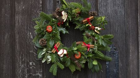 Hang your wreath. Photo: Leigh Clapp