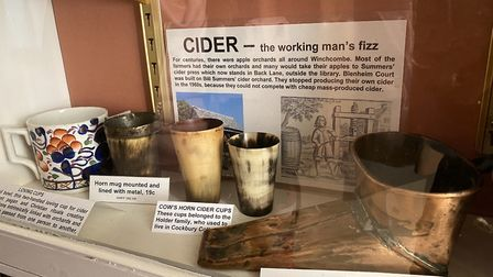 Tribute to cider press history in Winchcombe
