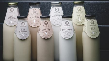 You can have organic almond, coconut and oat milk delivered to your door in glass, re-usasable bottl