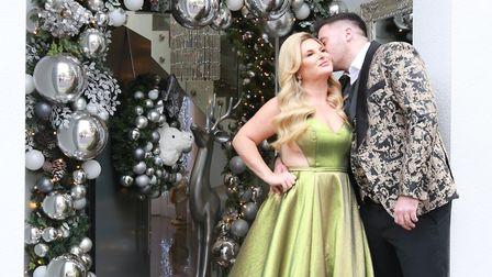 Nicole and Joe love Christmas and go all out to make it a special family occasion