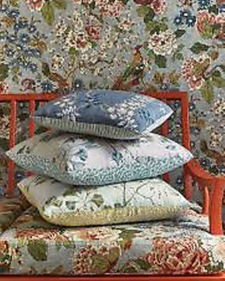 Jardine by Colefax and Fowler is one of Charlotte's favourite fabric designs for autumn/winter