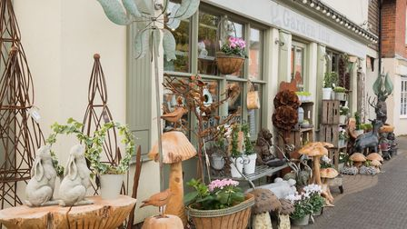 The Garden Inn in Stockbridge is one of Charlotte's favourite places to shop