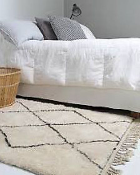 Moroccan Beni Ourain floor coverings add a casual chic to your interiors