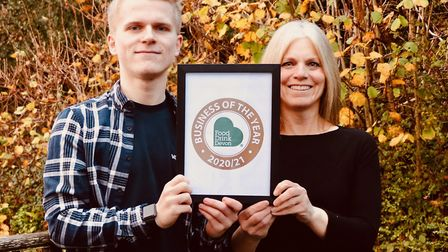 Business of the Year was the family-run Postal Pantry Co. Photo: Food Drink Devon