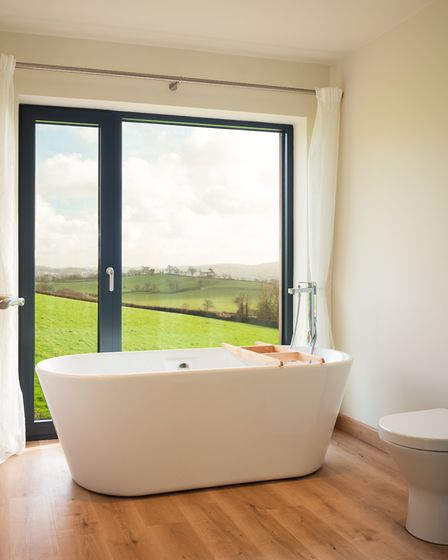 South-facing views have been emphasised throughout, to maximise the light. Photo: Laurence Liddy