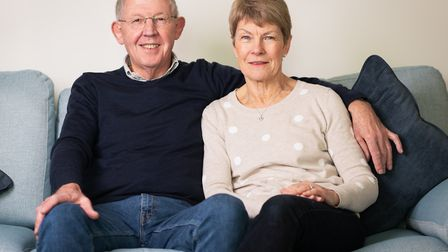 David and Penny Clapp are delighted with the completion of their dream home. Photo: Laurence Liddy