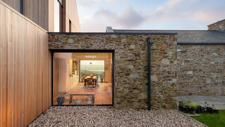 The exterior is wrapped in a palette of high quality natural materials that won?t date. Photo: Laurence Liddy