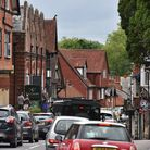 Lyndhurst High Street: not just for summer, in fact it comes into its own in the run-up to Christmas