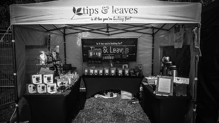 Lyndhurst-based Tips & Leaves usually attends festivals and shows, but can also be found online and