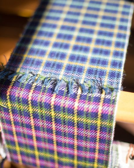 Modern tweed comes in so many different colours