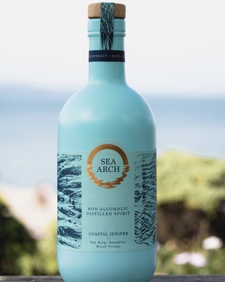 Non-alcoholic drinks brand Sea Arch. Photo: Nick Hook