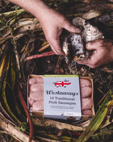 Westaways sausages has won Innovation of the Year at the 2020 UK Packaging Awards for its unique eco
