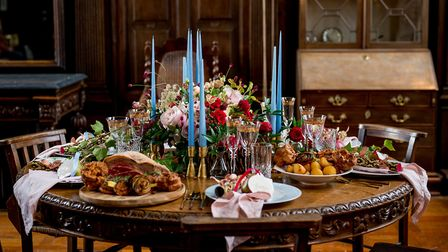 We descended on Loseley Park for our December cover shoot. Image: Hayley Bray Photography