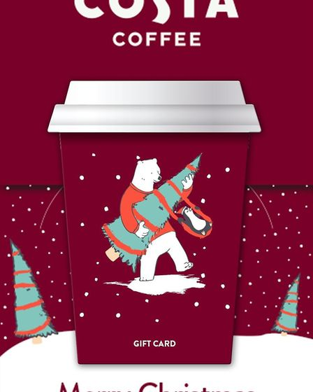 Christmas Gift Card – Costa. Picture: Costa