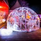The Festive Dining Pods at Kings Oak (photo courtesy of Kings Oak)