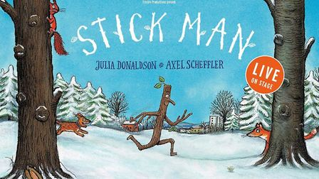 WIN tickets to Stick Man Live