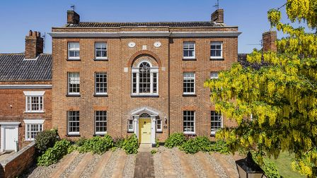 The impressive house was orginally built for the towns wheat merchant (photo courtesy of the venue)